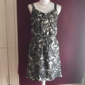 Black and white Merona dress
